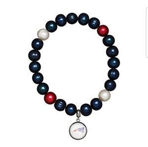 Honora NFL New England Patriots Bracelet